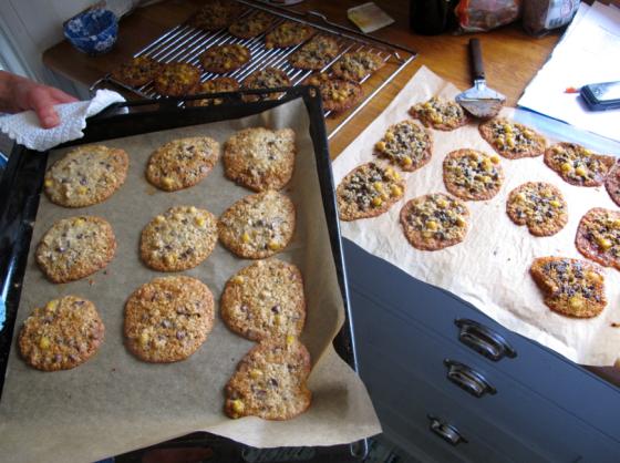 Hmm, även den här omgången cookies gick ner...